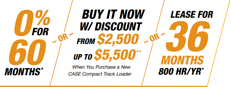 0% for 60 months OR Buy it now with discounts from $2500 to $5500 OR Lease for 36 months
