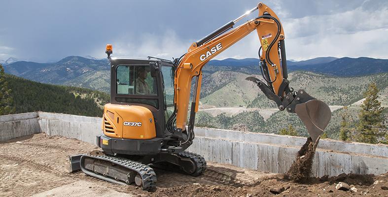CX37C Mini Excavator