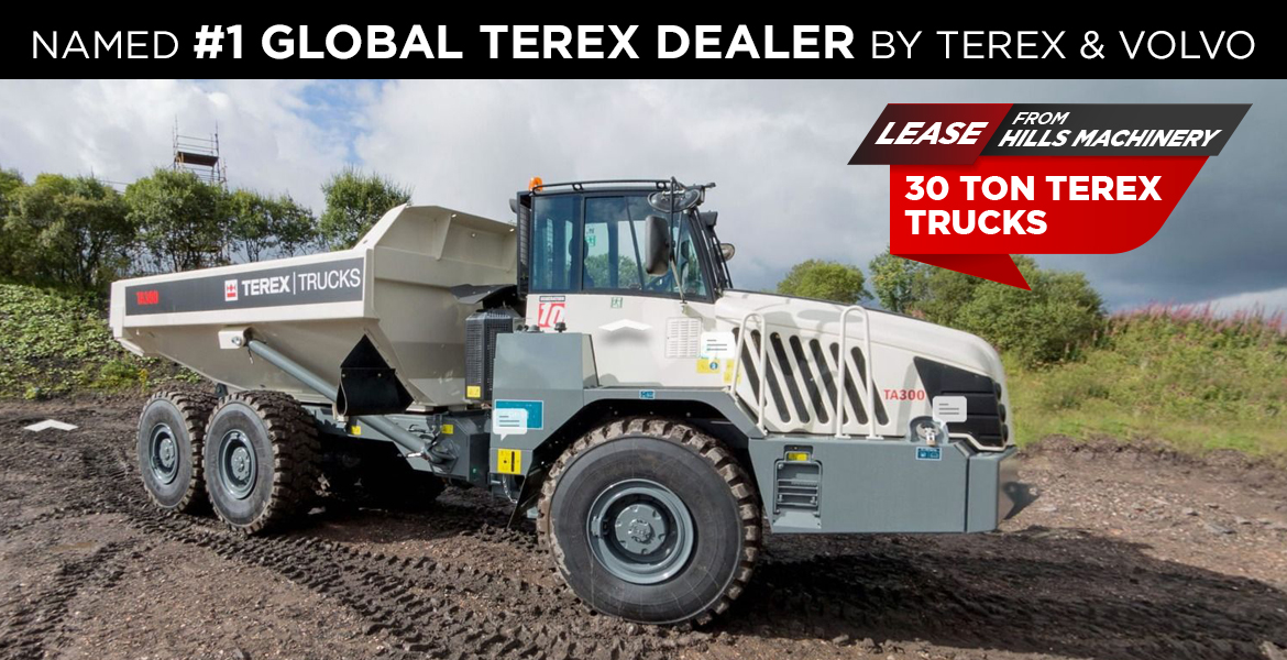 Named #1 Global Terex Dealer by Terex and Volvo