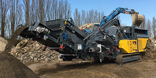 Rubble Master Rental RM90GO! Mobile Crusher