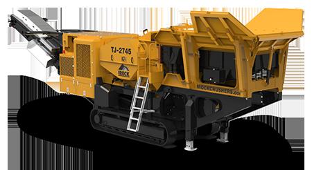 IROCK Rental TJ-2745 Mobile Jaw Crusher