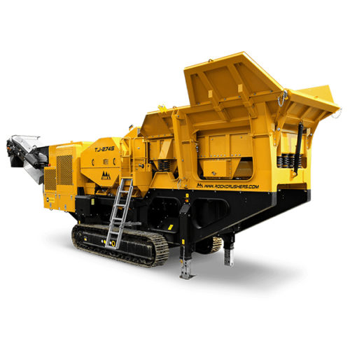 IROCK TJ-2745 Mobile Jaw Crusher Rental