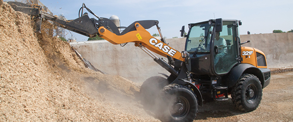 New CASE Compact Wheel Loaders