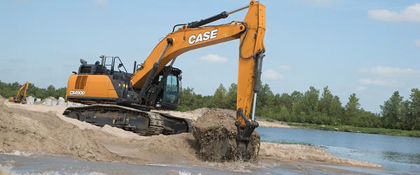 New CASE Excavators