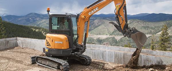 New CASE Mini Excavators