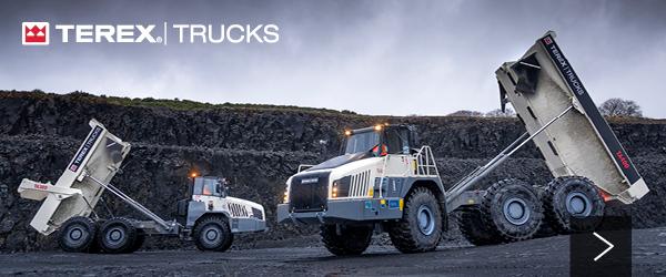 New Terex Trucks