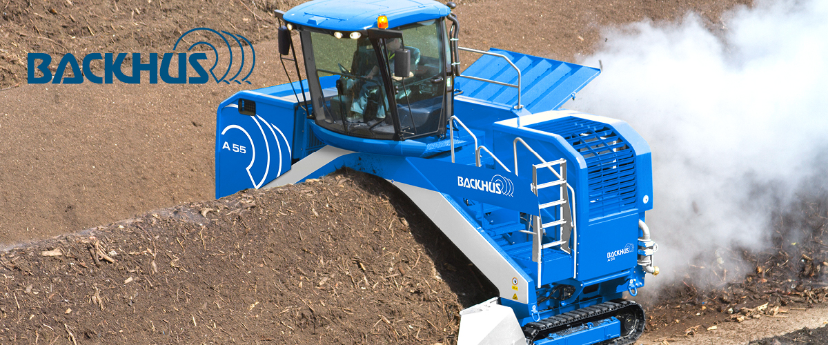 New BACKHUS Windrow Turners