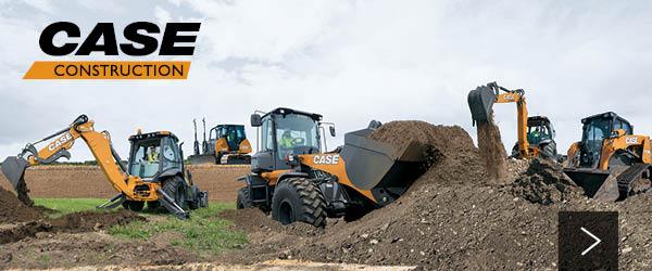 New CASE Construction Equipment