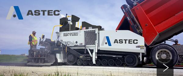 New Astec Roadtec Equipment