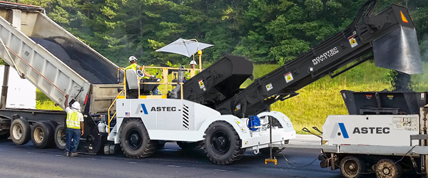 New Astec Material Transfer Vehicles